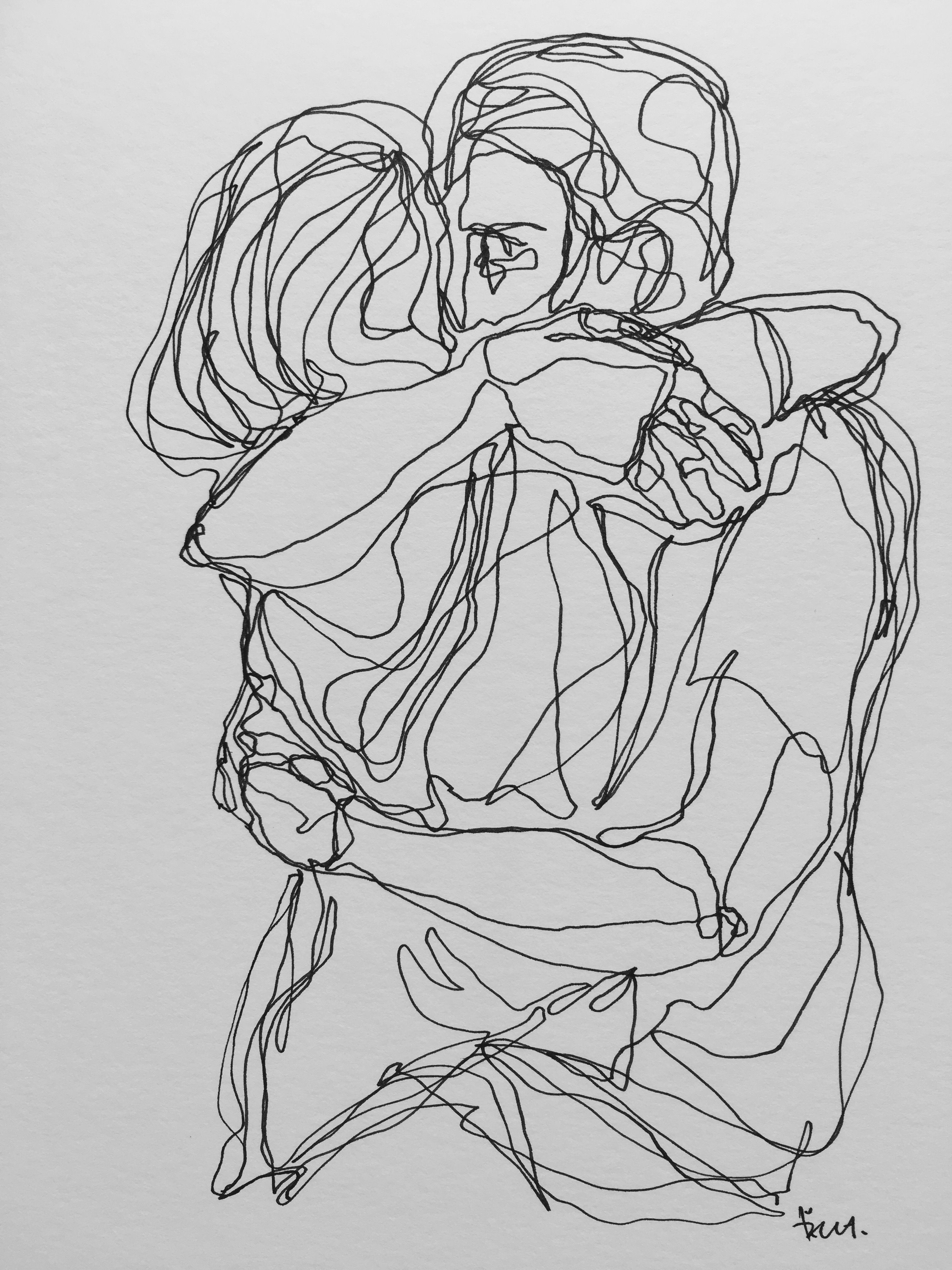 Don T Let Go Hold Me Tight Art Drawings Buy Art Online