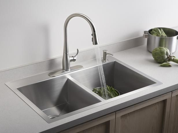 self rimming sinks tried and true available in stainless steel rh pinterest com