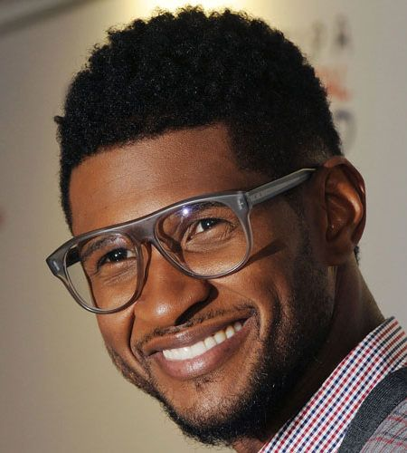 Usher Mohawk Hairstyle