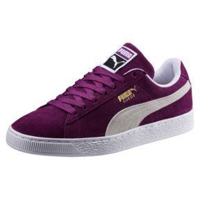 super popular 0345b 5022d Suede Classic Sneakers, Grape Kiss-Puma White