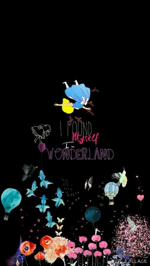 I Found Myself I Wonderland Disney Alice Wallpaper Iphone Disney Wonderland