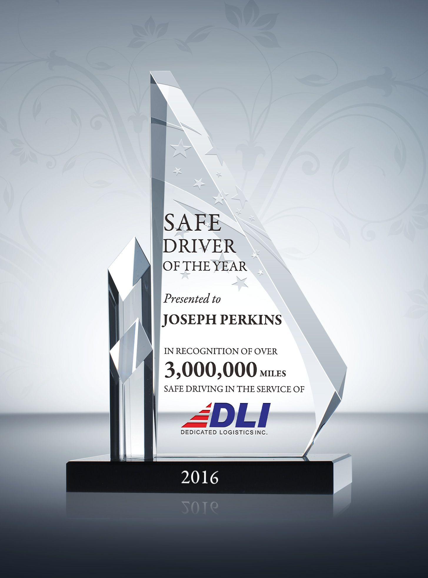 sample recognition awards