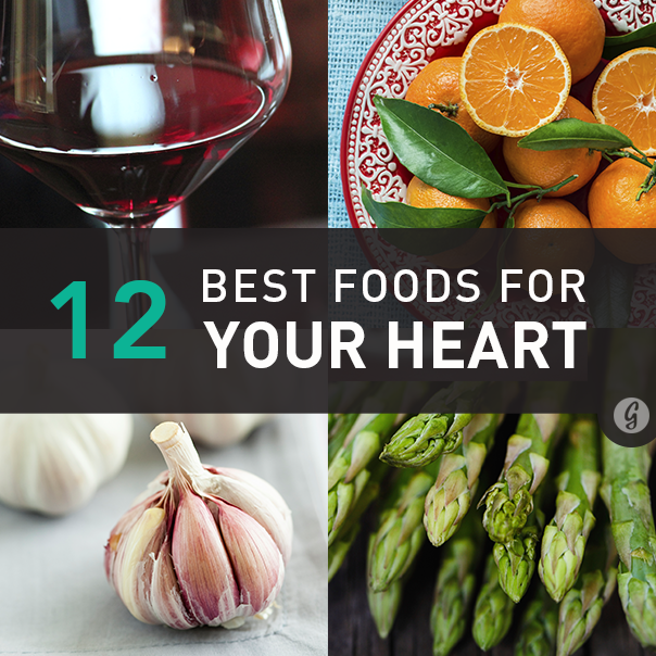 The best foods for your heartand why you should care heart 12 best foods for your heart health forumfinder Choice Image