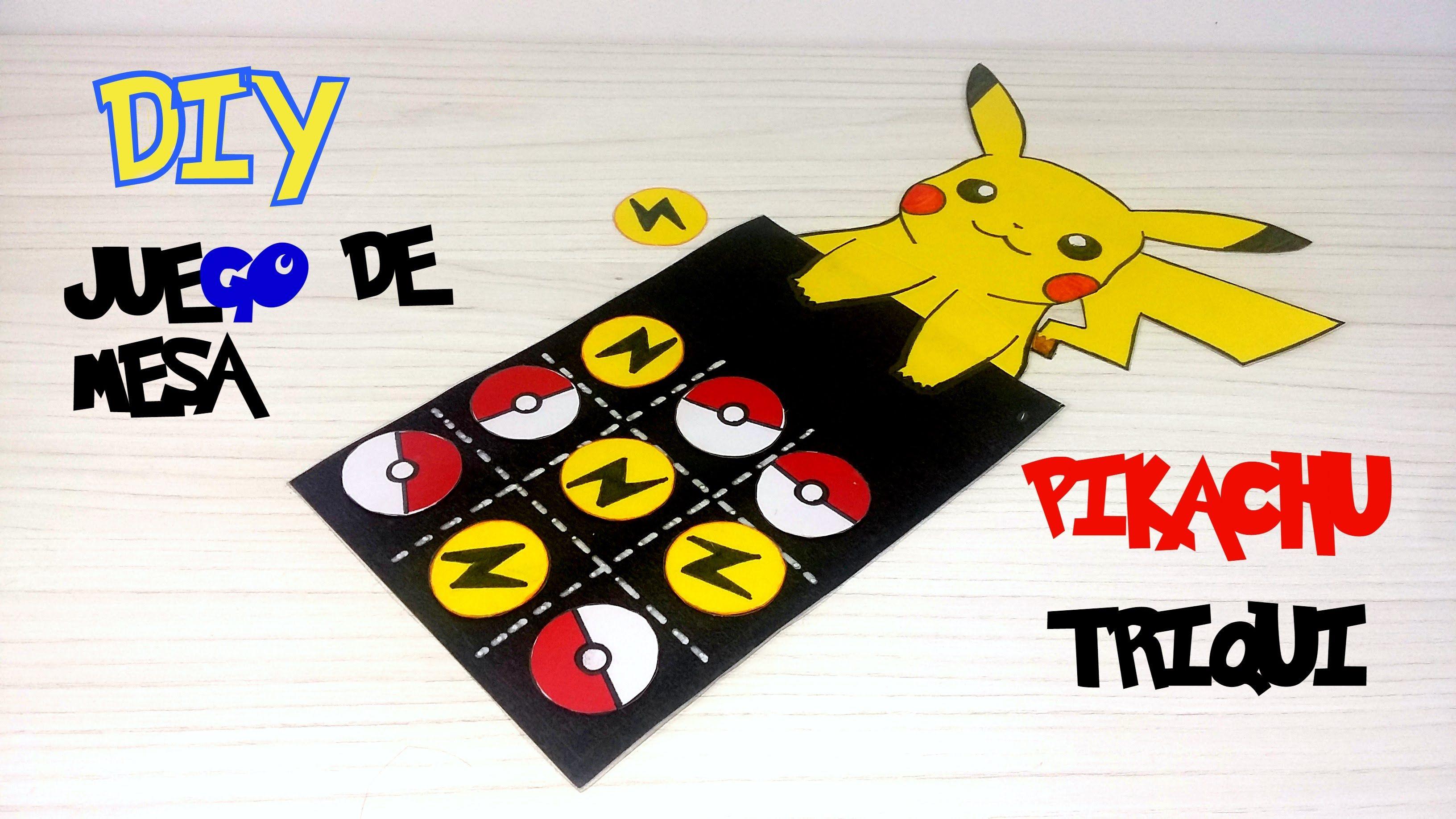 Juego De Mesa Inspirado En Pokemon Go Diy Diy Games Pinterest