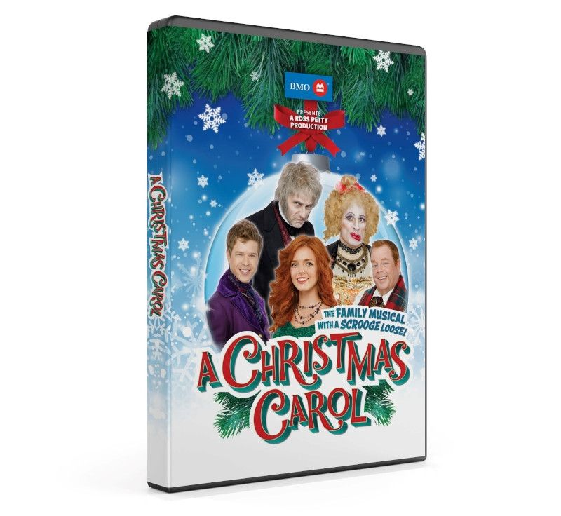 Ross Petty's A Christmas Carol Now Available on DVD
