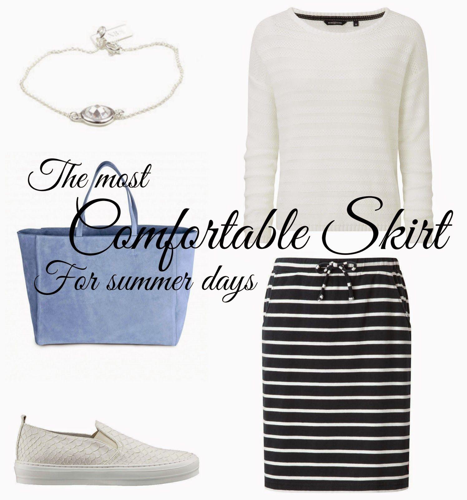 Spring Picks: The most comfortable skirt for summer days  www.stellarstories.fi @stellarstoriesblog