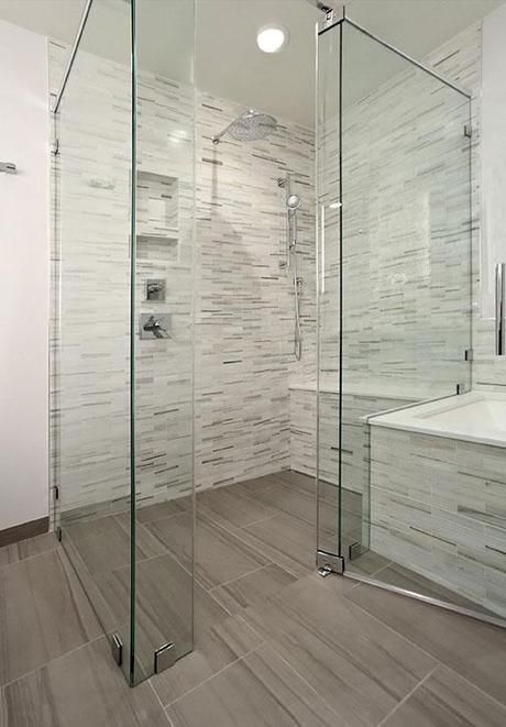 Raising The Bar With Curbless Showers Modern Bathroom