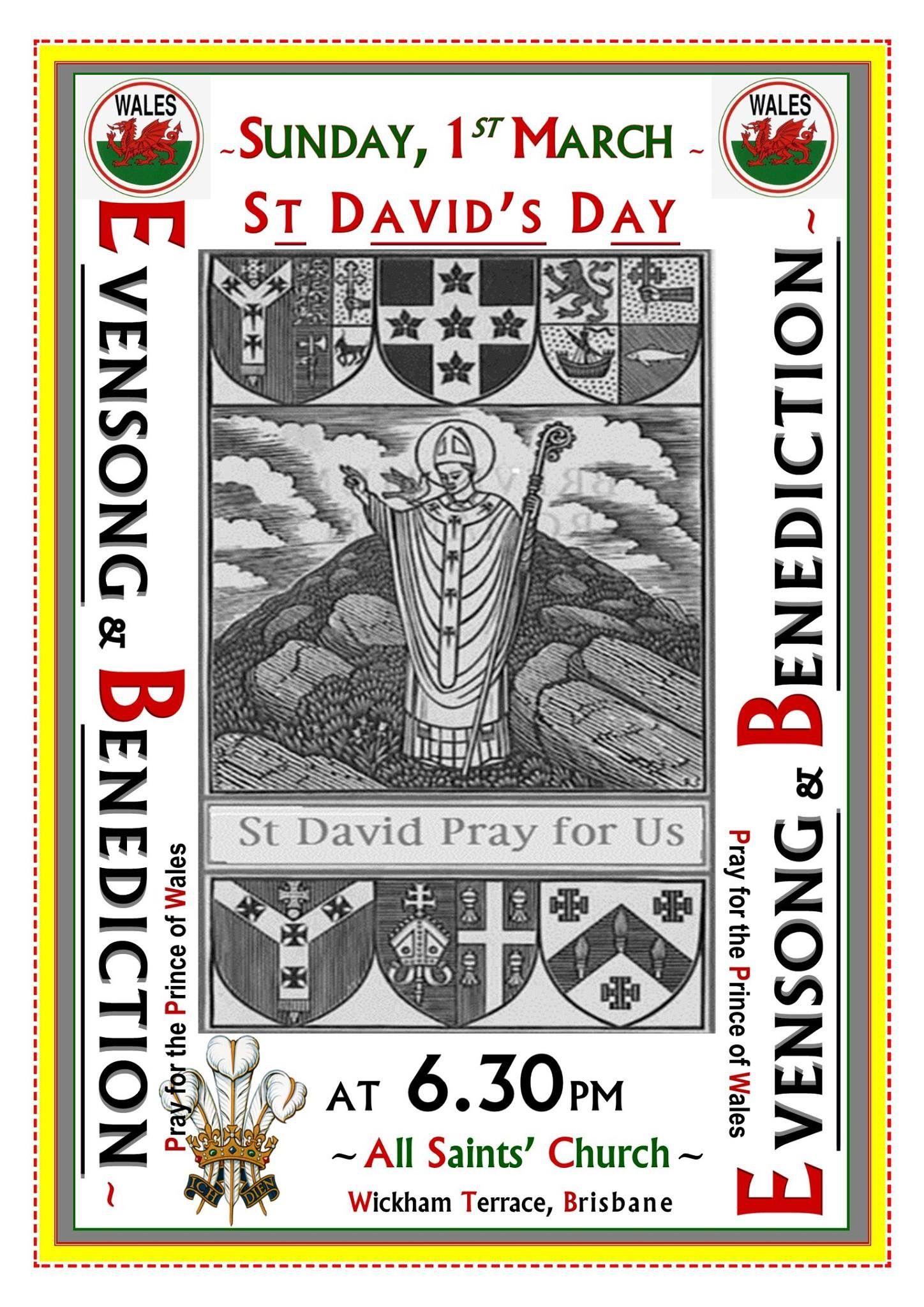 1 3 2015 happy st david s day pictorial calendar 2015 pinterest