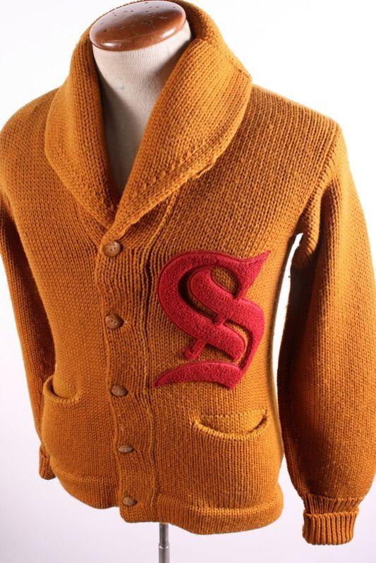 Vintage Shawl Cardigan Sweater 1  95718f909