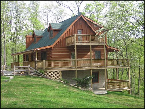 Beautiful cabins for a nice getaway close to indy for Bloomington indiana home builders