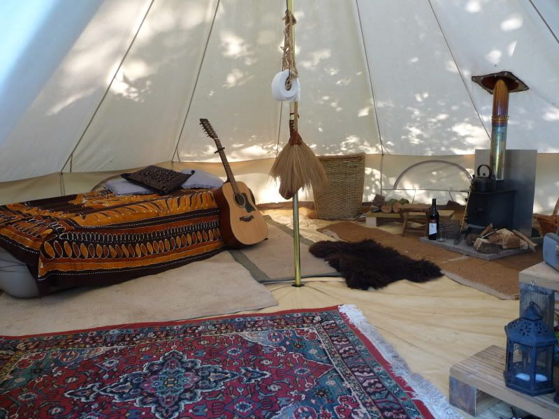 Some shots of the interior of our Soulpad bell tent  thereu0027s nothing quite like c&ing under old school canvas . & Pin by Sabine De Clercq on kamperen | Pinterest | Tents and Camping