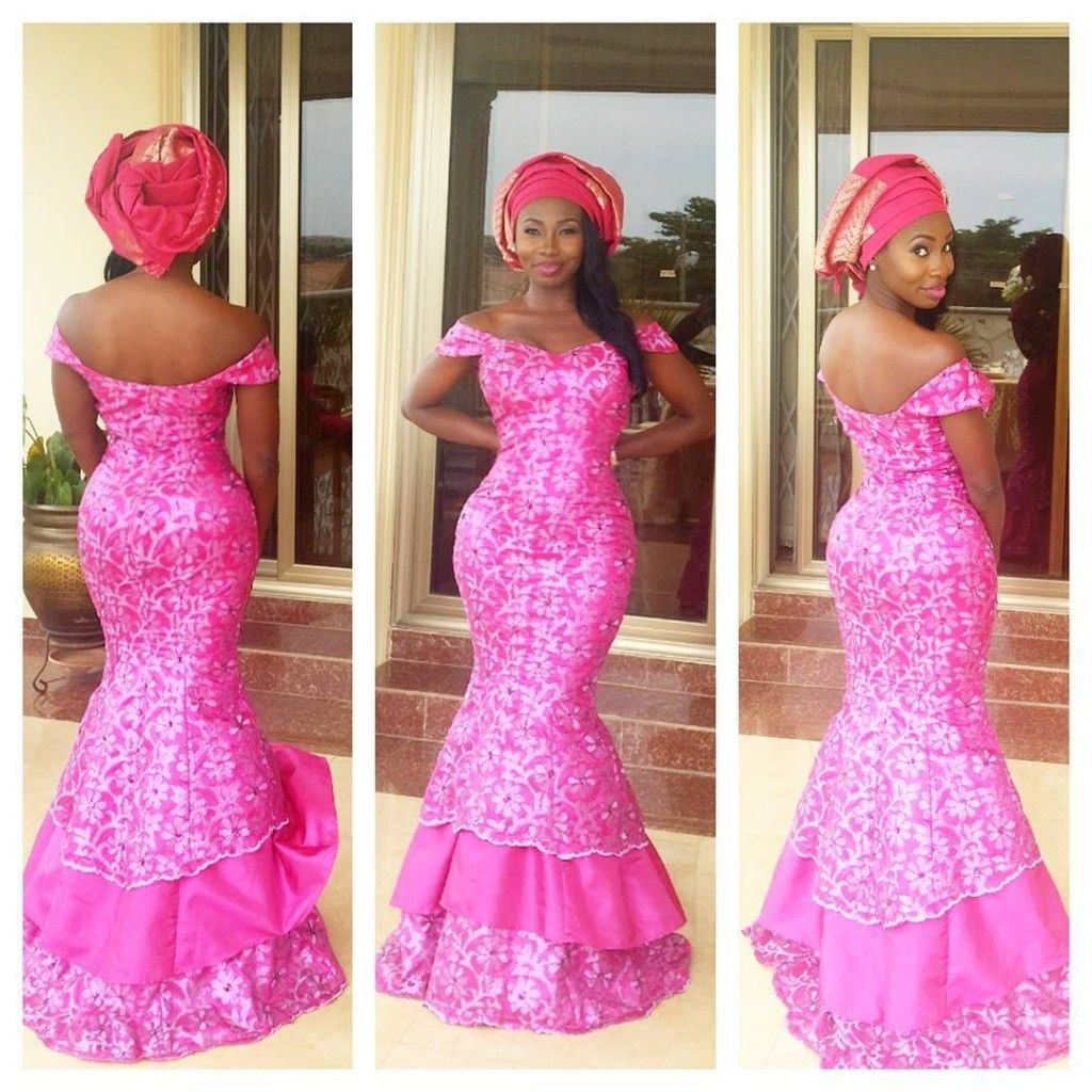 Let\'s All Swoon Over These Sexy, Sassy & Hot Aso-Ebi Styles ...