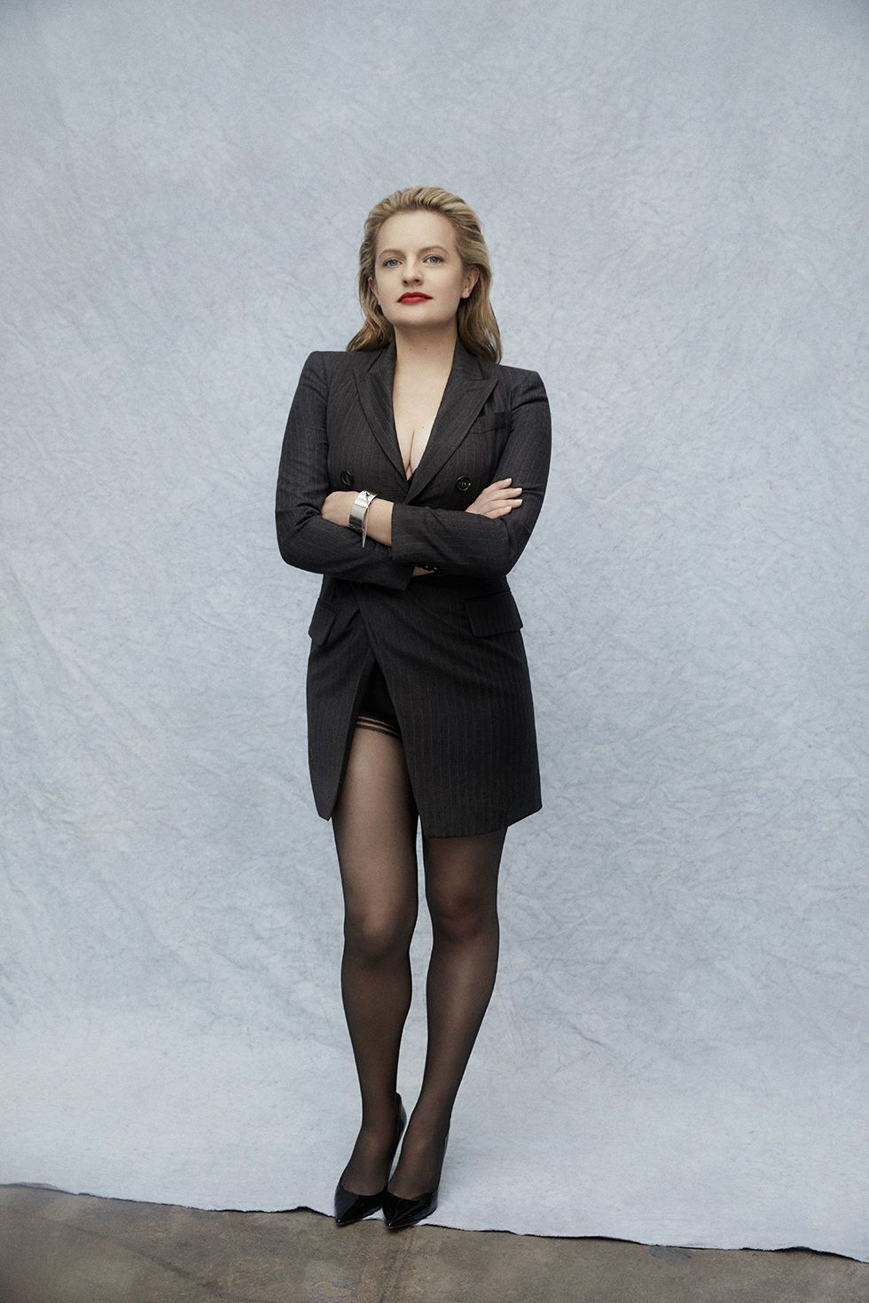 Actress Elisabeth Moss from The Handmaid\'s Tale and Mad Men ...