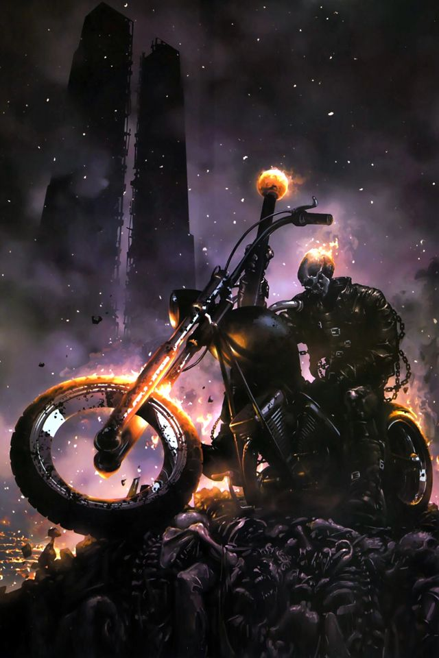 Ghost Rider Hd Wallpapers Backgrounds Wallpaper 1191735