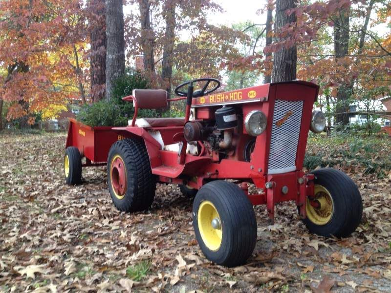 Bush Hog D4 10 With Dt 1 Bush Hog Dump Cart And Original