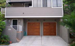 Wayne Dalton Black Garage Door In 2020 Garage Doors Black Garage Doors Garage Door Design
