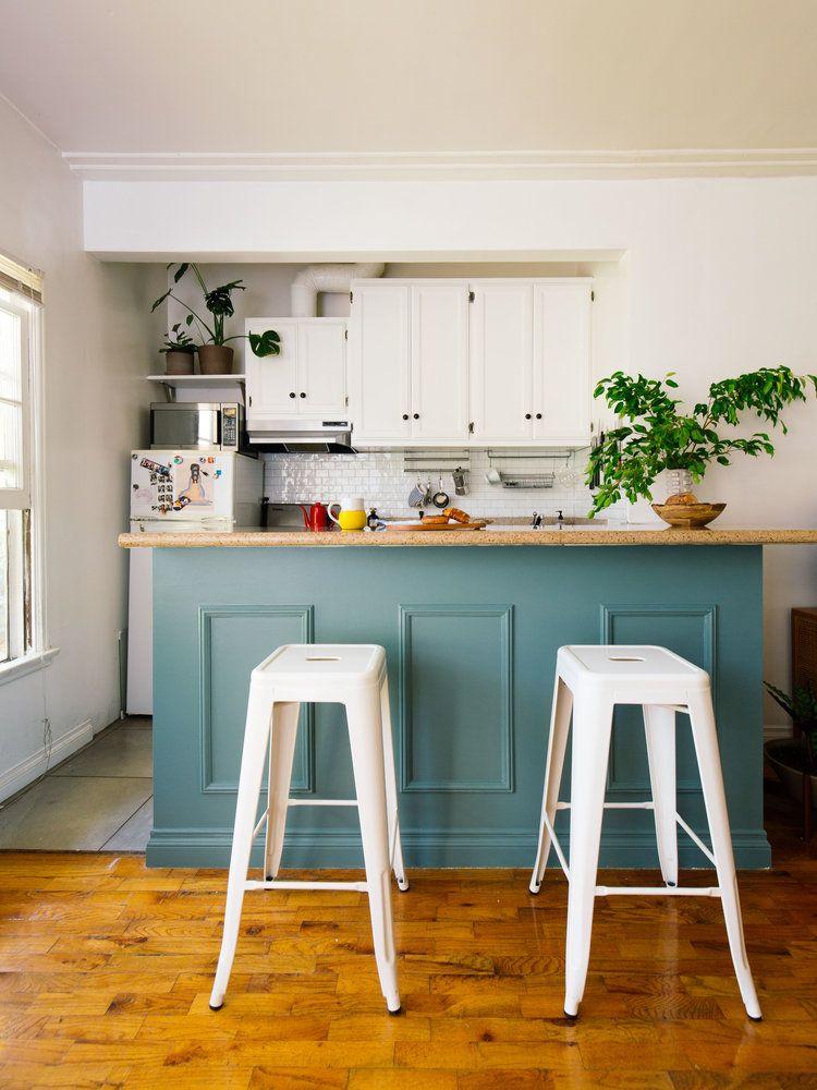 Kim's Living Room and Kitchen Refresh Condo kitchen