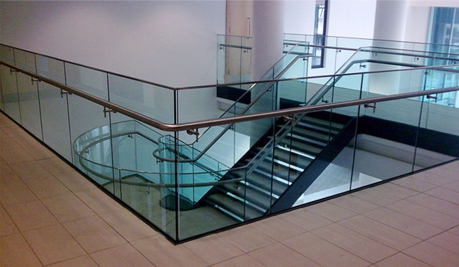 Best Glass Balustrade To Mezzanine Level Featuring A Stainless 400 x 300