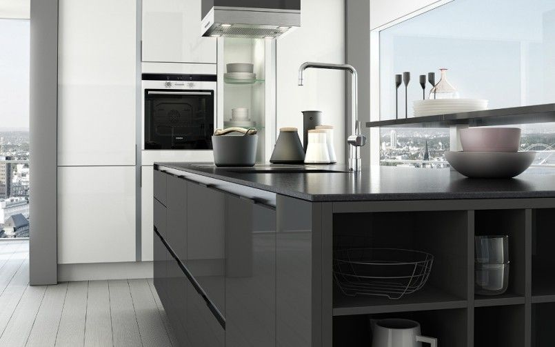 Kitchen tiles designs grey and white best paint colors for cabinets  dramatic model ikea also