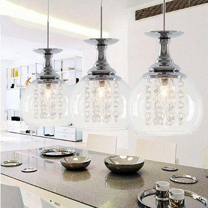 Modern pendant lamps designtal lights for dinning room restaurant