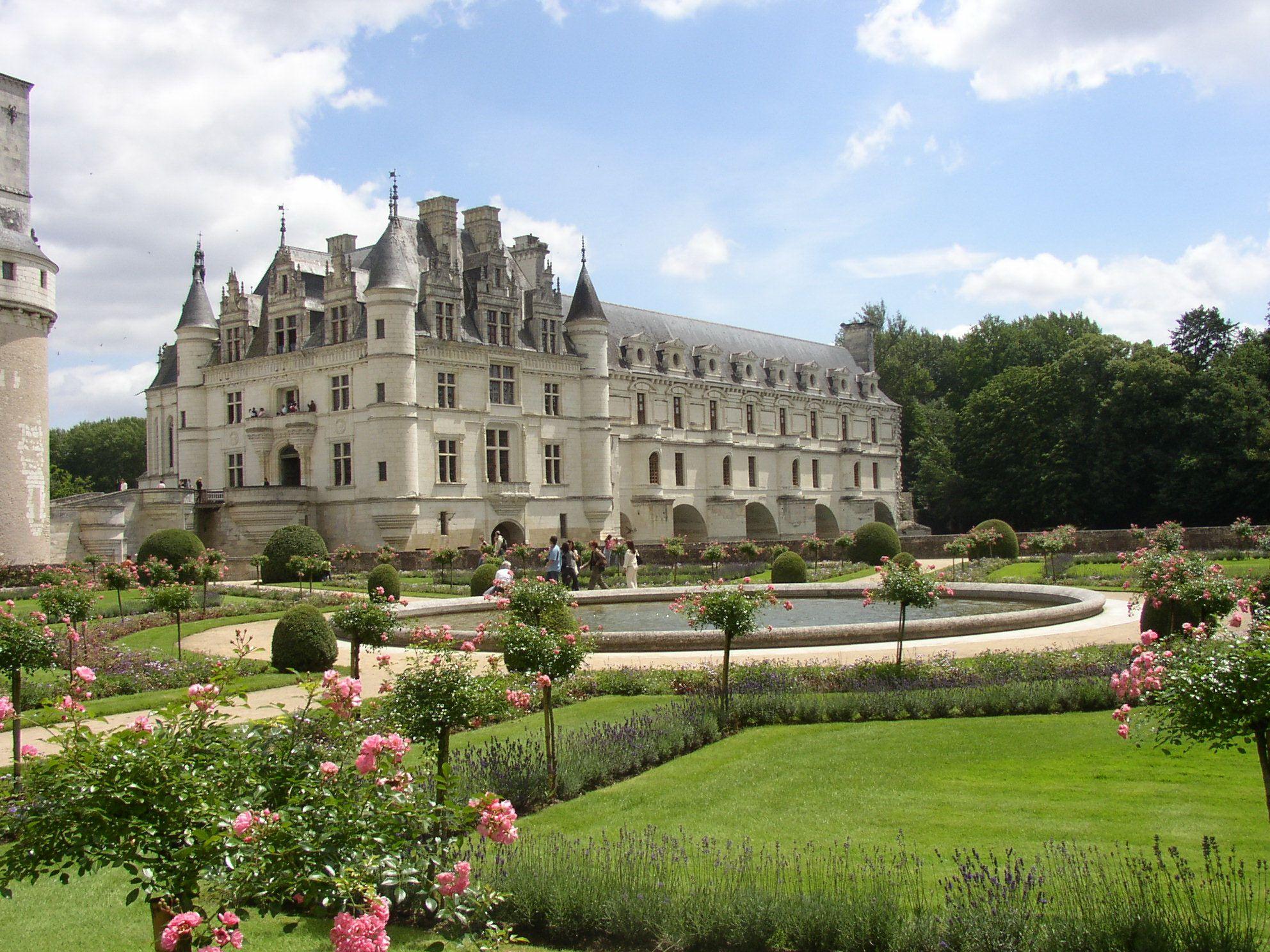 Chateau  de Chenonceau et ses jardins, France France
