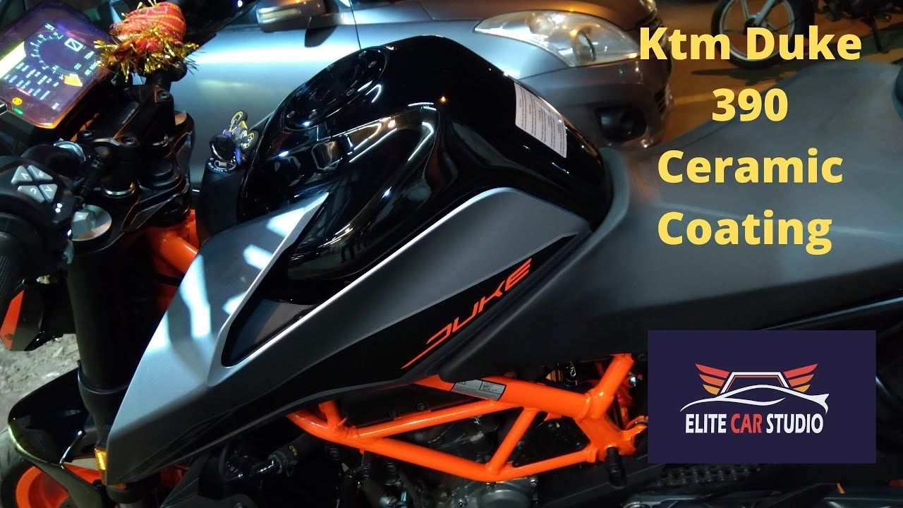 Ktm Duke 390 Bike Paint Protection Film Ppf Ceramic Coating
