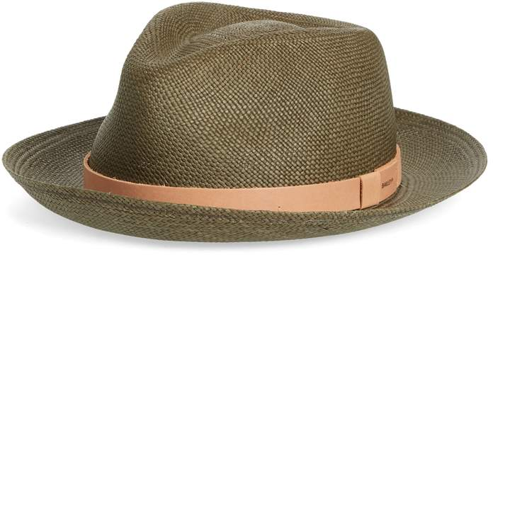415df9ce2 Bailey Gelhorn Straw Panama Hat | Products in 2019 | Hats, Panama ...
