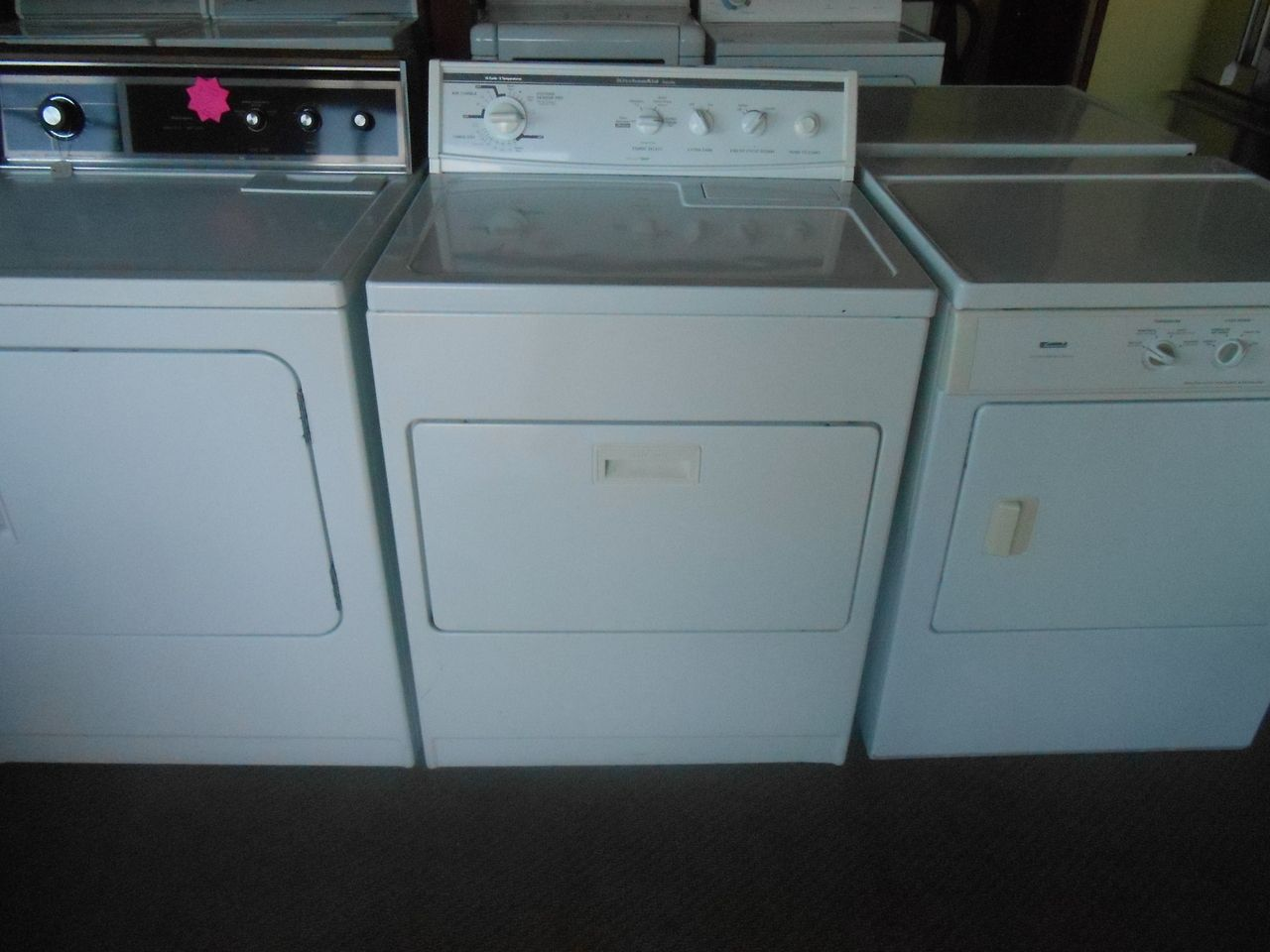 kitchenaid stackable washer and dryer