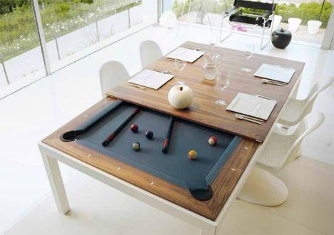 Pool Tables That Convert Transform