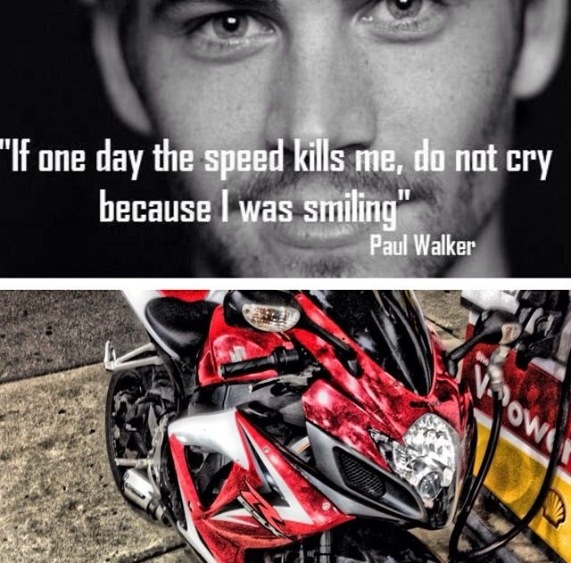 Don T Cry I Died Smiling With Images Bike Life Crying Speed
