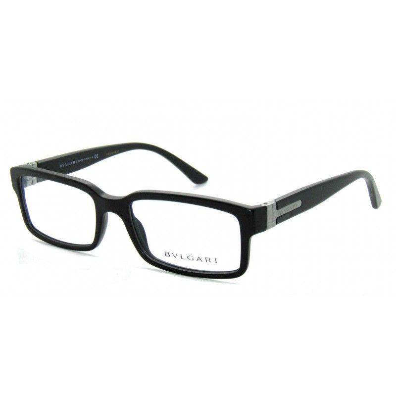 Bvlgari Eyeglasses BV3014 Rectangle | Bvlgari Eyeglasses | Pinterest ...