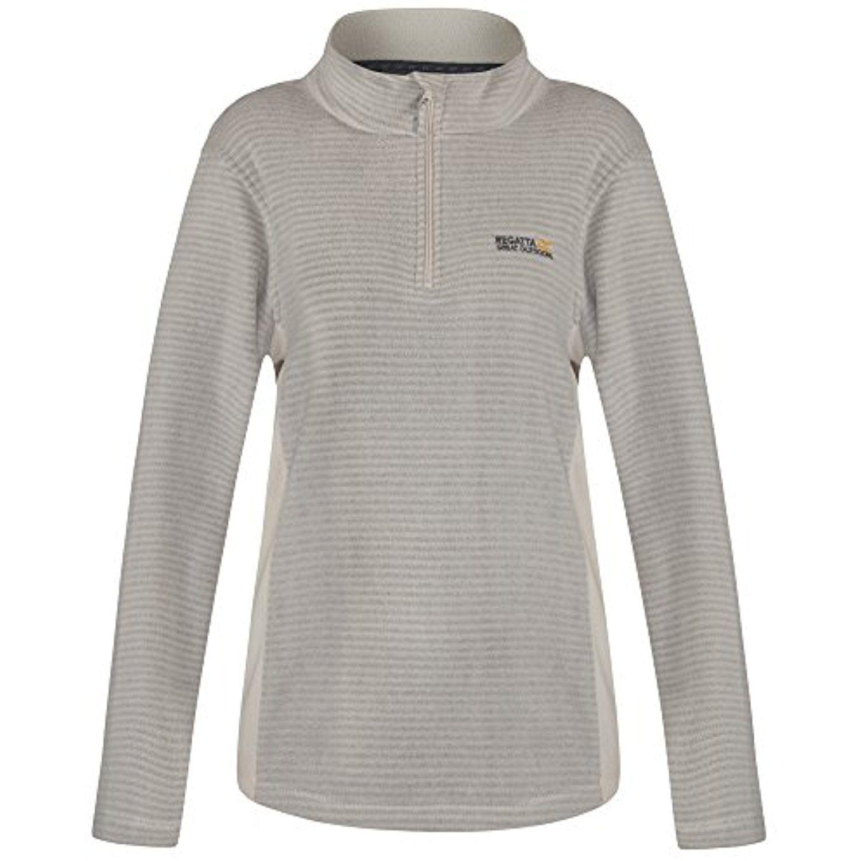Great outdoors womensladies embraced half zip fleece sweater
