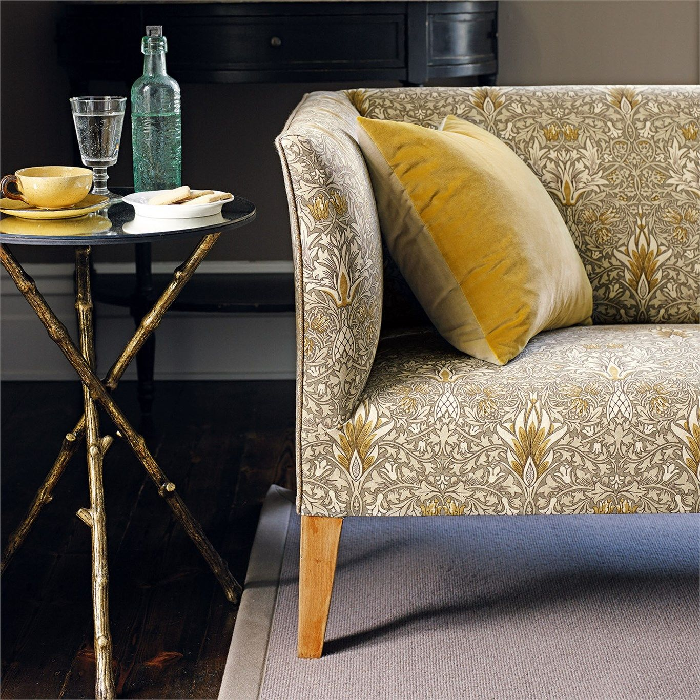 arts and crafts sofa bed pillows throws the original morris co fabrics