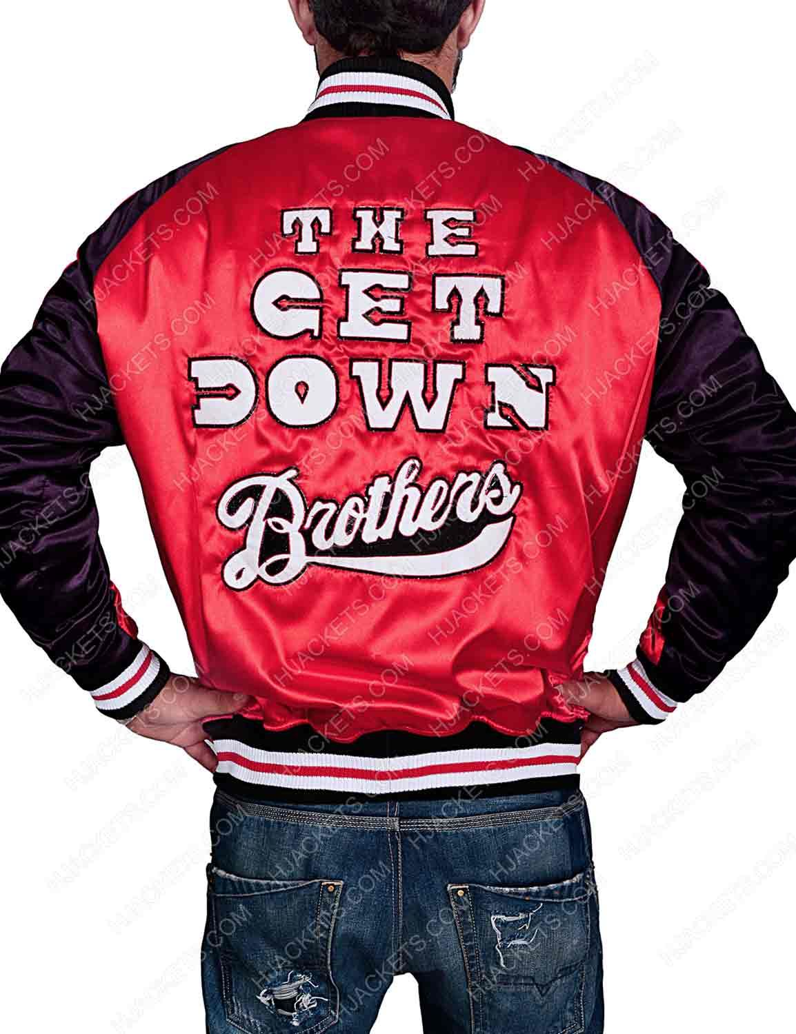 Dizzee The Get Down Brothers Jacket Jackets The Get Down Down Jacket [ 1500 x 1154 Pixel ]