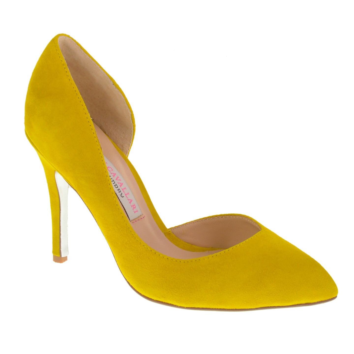 We loved JLo's mustard yellow Golden Globes dress! Try adding a pop of the hot color to your outfit with our Kristin Cavallari Copertina D'Orsay Pumps in Yellow