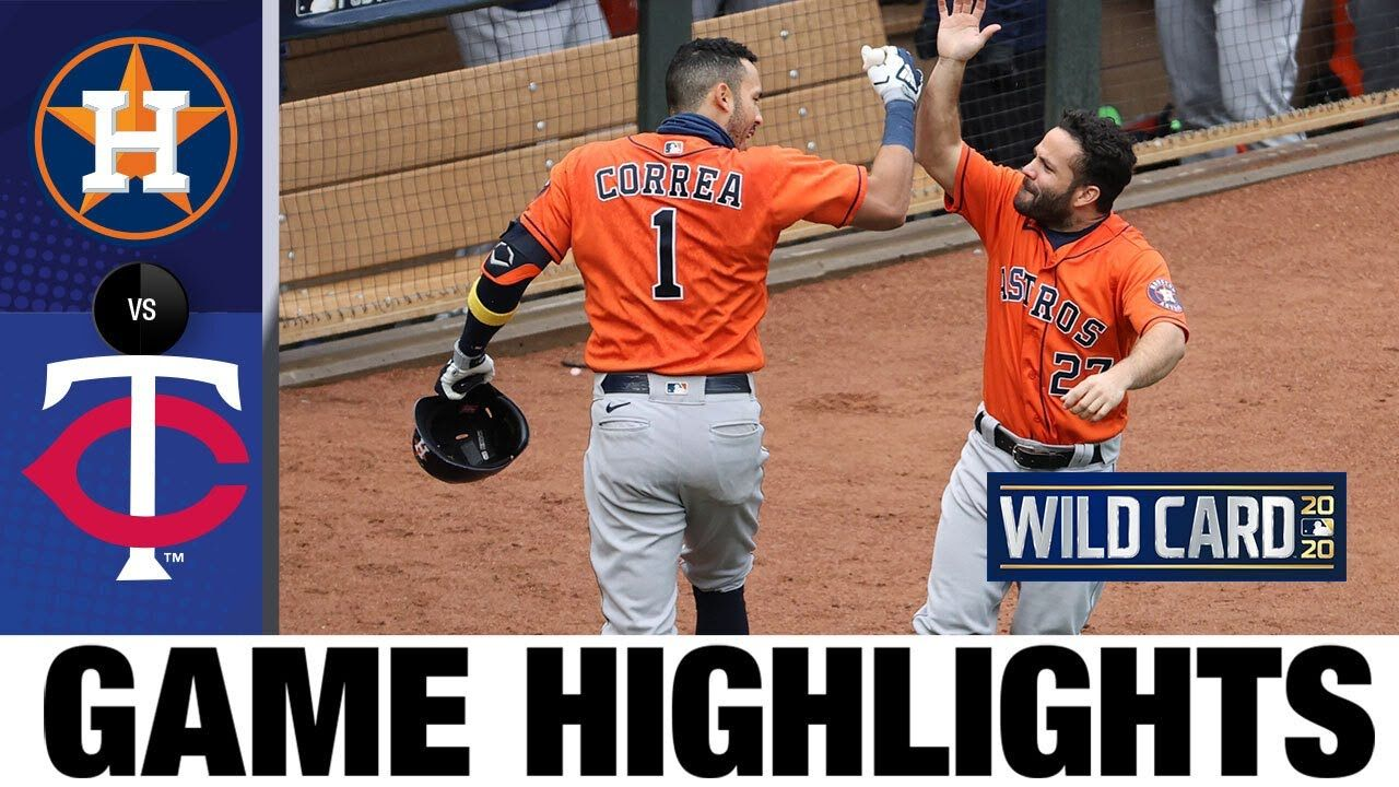 Astros advance to ALDS after 2-0 series win | Astros-Twins Wild Card rou...