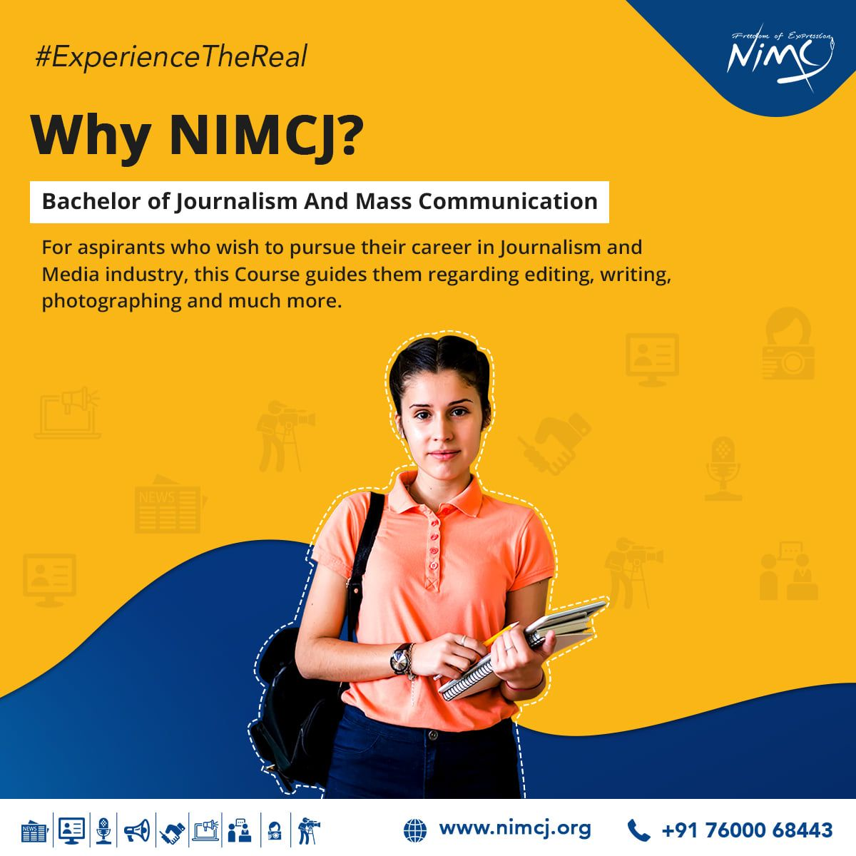 Bachelor of Journalism And Mass Communication(BJMC) is the