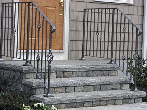 Best Image Result For Stone Front Steps And Vinyl Rail Front 400 x 300