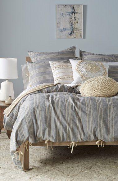 nordstrom at home bistro stripe bedding collection available at nordstrom - Nordstrom Bedding