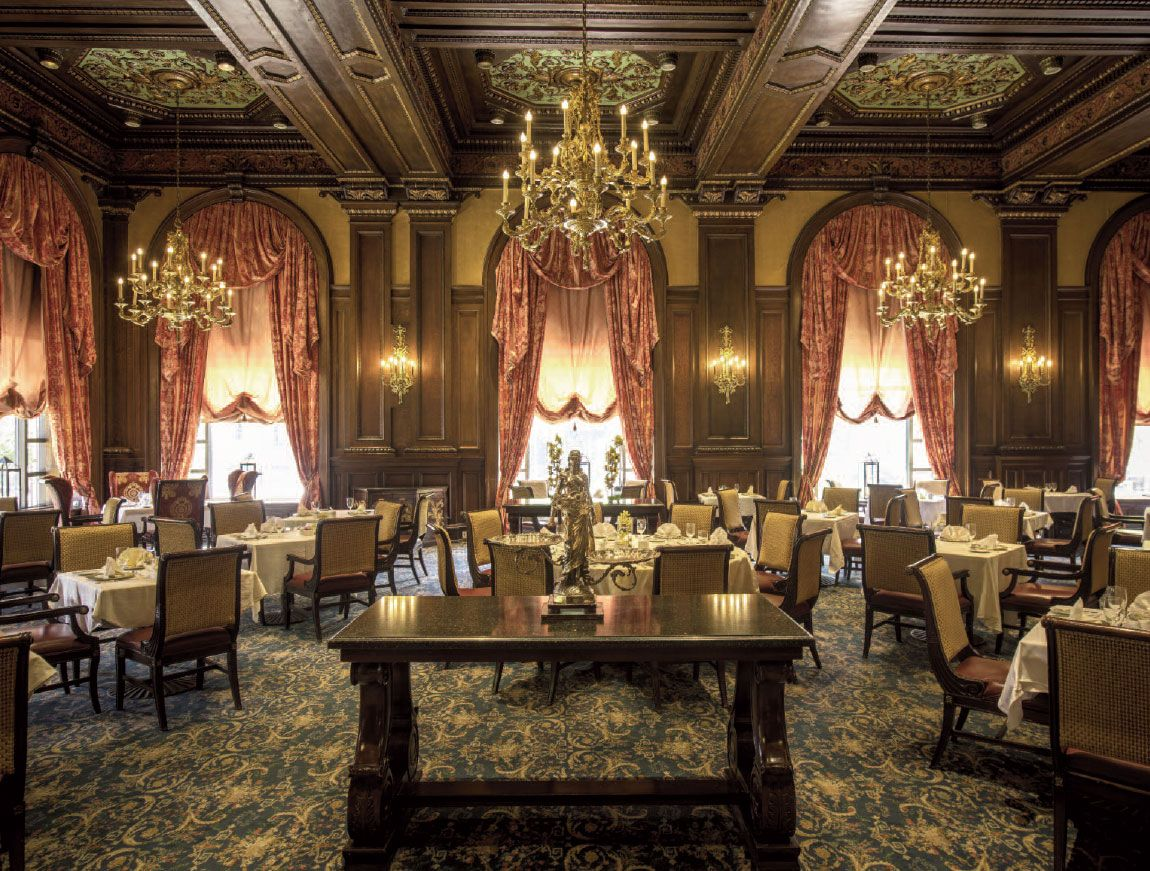 The Former Cafe Rouge At The Hotel Pennsylvania Is Now Reopened As