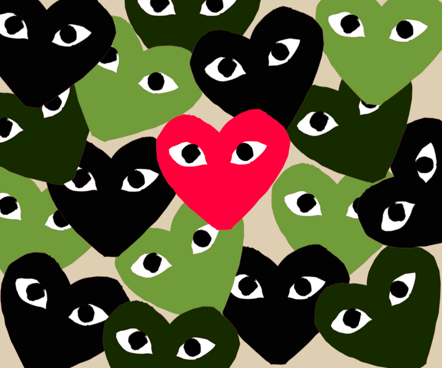 Comme Des Garcons Wallpaper By Canibaljay Iphone Wallpaper Tumblr Aesthetic Art Wallpaper Iphone Pretty Wallpaper Iphone
