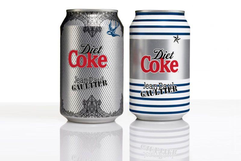 Jean Paul Gaultier x Diet Coke Packaging Design