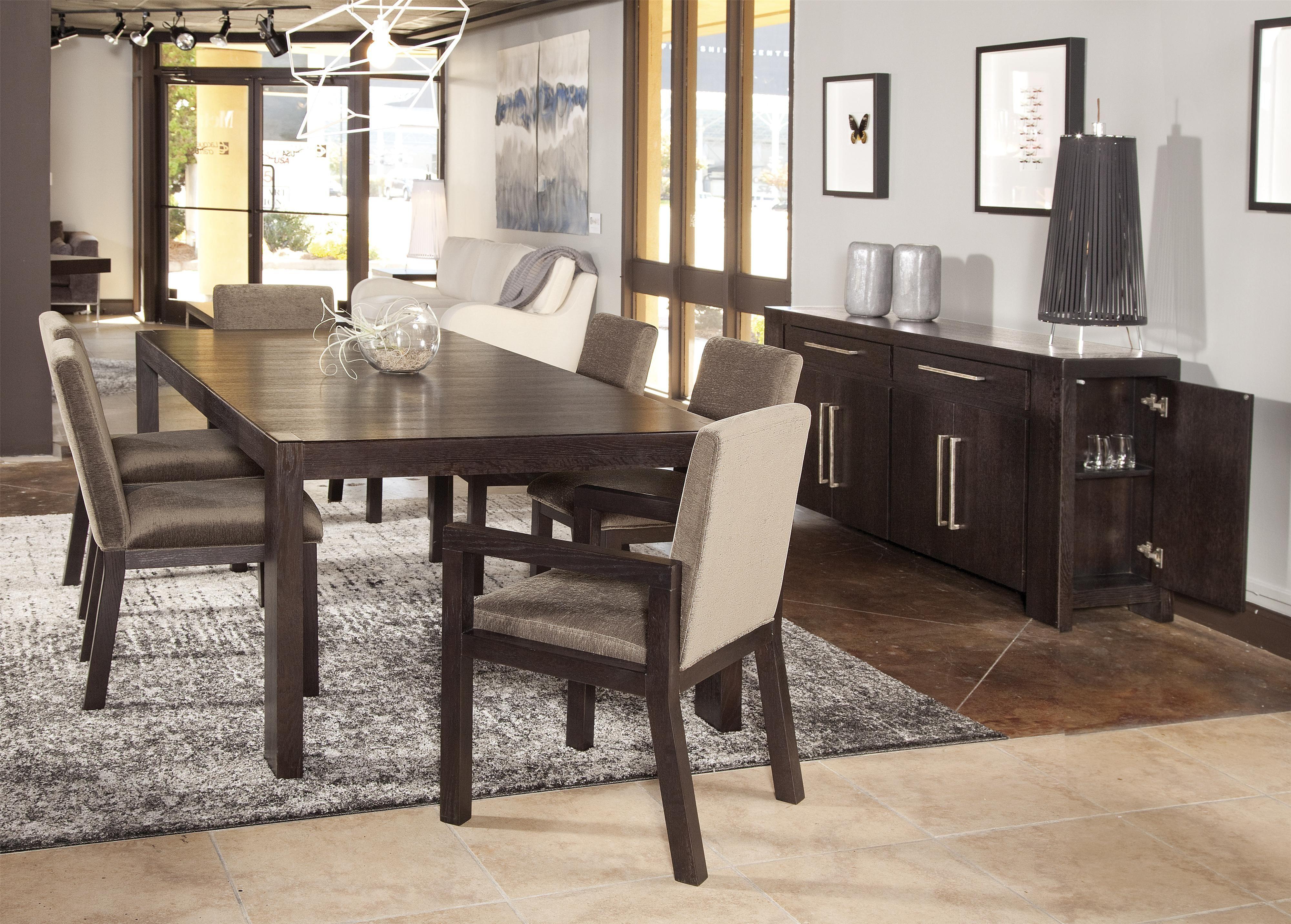 Lacquer Craft Usa Metropolitan 8300 7 Piece Casual Dining Table