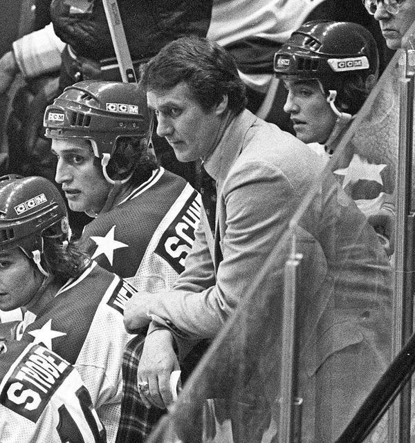 Exterior: Herb Brooks - Team USA Head Coach 1980