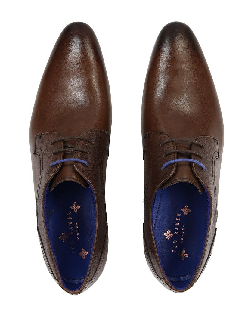 2e197da407f58c ted baker mens pelton leather derby shoes brown online shop b2eca ...
