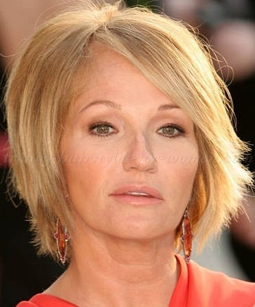 short hairstyles over 50, hairstyles over 60 - bob haircut for ...
