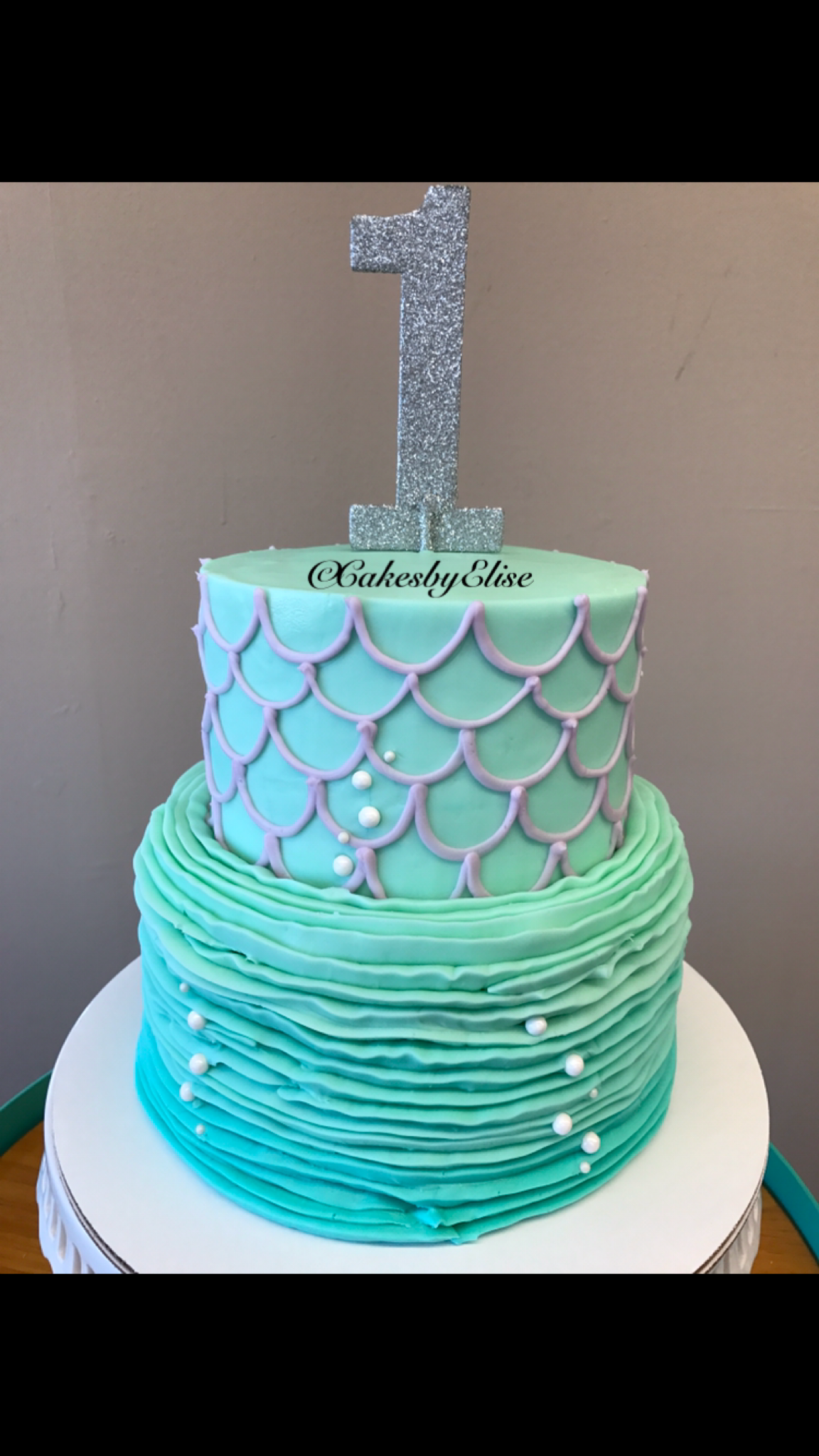 Mermaid Cake Full Buttercream Cake Ideas