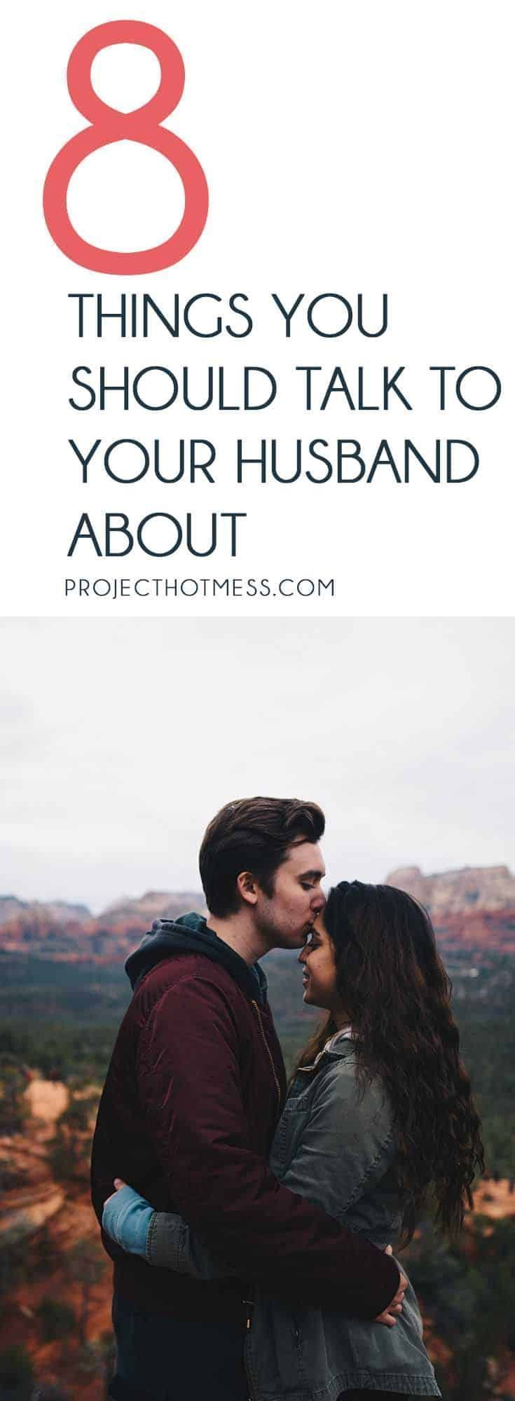 what to talk about with my husband