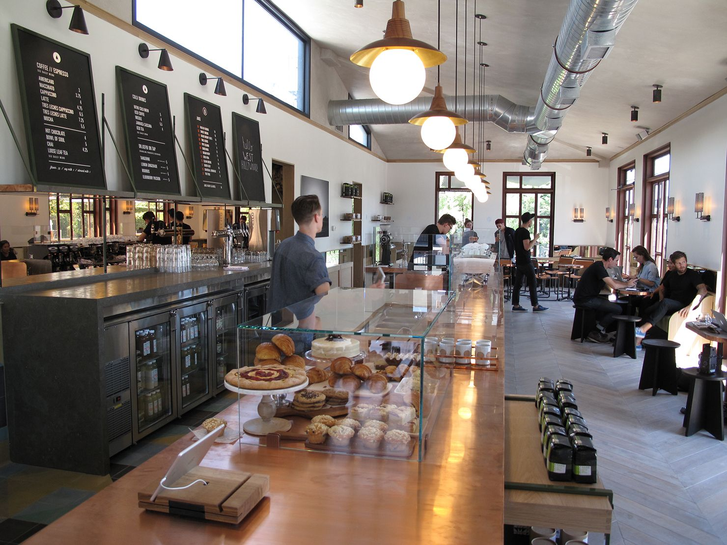 Los angeles verve coffee opens in west hollywood cafe