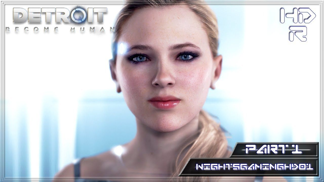 Detroit Becomes Human Storyline Gameplay Part 1 The Hostage Ps4
